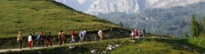 trekking per ragazzi e bambini
